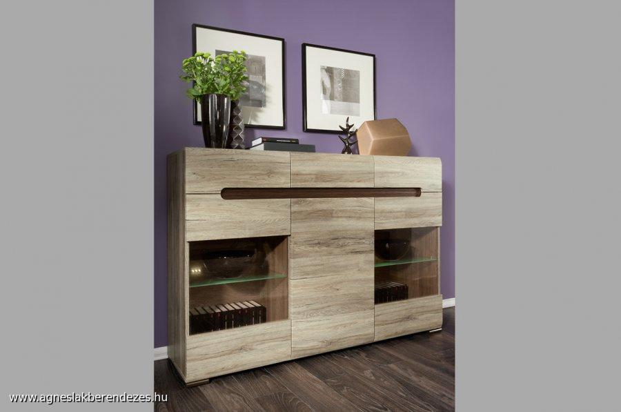 AZTECA elemes bútor, BRW, Black Red White bútor, Tapolca