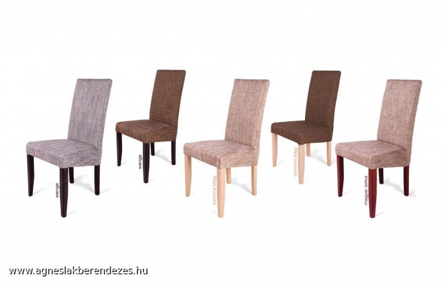 kárpit nélkűli étkező székek