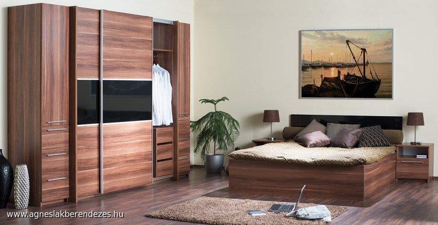 Idill hálószoba bútor, Tapolca, Ágnes Lakberendezés, Bútor