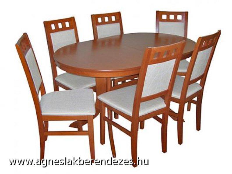 MELINDA - MYRA étkező, Asztal, Szék, Étkezőasztal, Tapolca
