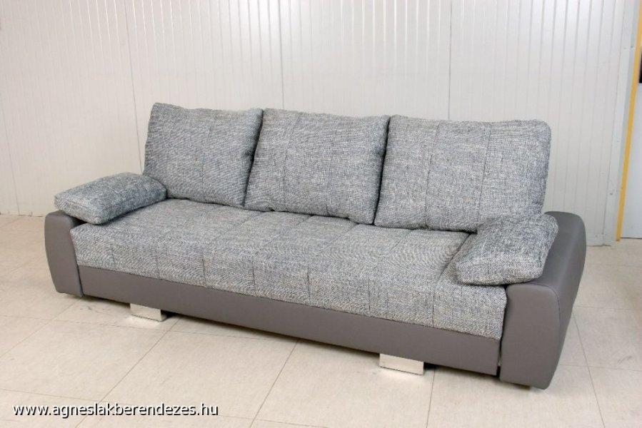 STREIFEN karos kanapéágy, Kanapé, Ágy, Tapolca